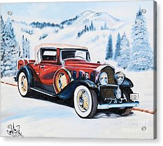 1931 La Salle Convertible Coupe Acrylic Print