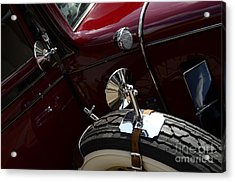 1932 Chevrolet Detail Acrylic Print by Bob Christopher