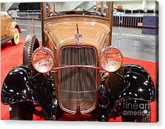 1932 Ford Model B-150 Station Wagon . 7d9206 Acrylic Print by Wingsdomain Art and Photography