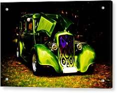 1933 Plymouth Hot Rod Acrylic Print