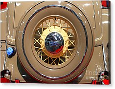 1934 Ford Model 40 Deluxe Cabriolet . 7d9357 Acrylic Print by Wingsdomain Art and Photography