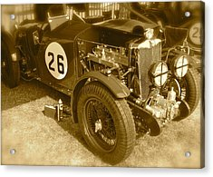 Acrylic Print featuring the photograph 1934 Mg N-type by John Colley