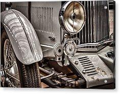 1935 Aston Martin Acrylic Print