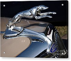 1935 Ford Greyhound Acrylic Print by Susan Isakson