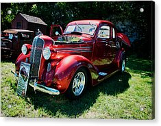 1936 Dodge Acrylic Print by Paul Barkevich