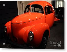 1937 Airomobile . 7d17314 Acrylic Print by Wingsdomain Art and Photography