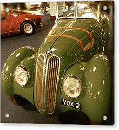 Acrylic Print featuring the photograph 1937 Bmw 328 by John Colley