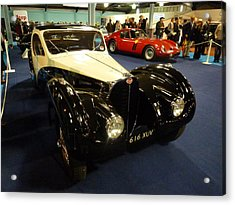 Acrylic Print featuring the photograph 1937 Bugatti Type S7sc Altalante by John Colley