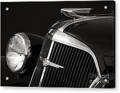 1937 Chevy Acrylic Print by Dennis Hedberg