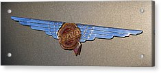 1937 Chrysler Airflow Emblem Acrylic Print by Gordon Dean II