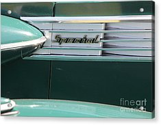 1938 Buick Special . 5d16226 Acrylic Print by Wingsdomain Art and Photography