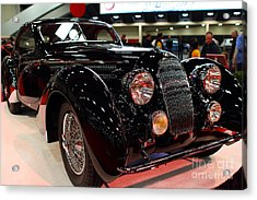 1938 Talbot Lago T150-c Speciale Teardrop Coupe . 7d9307 Acrylic Print by Wingsdomain Art and Photography