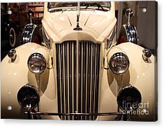1939 Packard Super Eight Phaeton - 7d17407 Acrylic Print by Wingsdomain Art and Photography