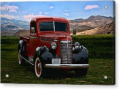 1940 Chevrolet Pickup Truck Acrylic Print by Tim McCullough