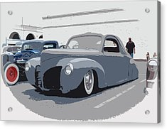 1940 Lincoln Acrylic Print by Steve McKinzie