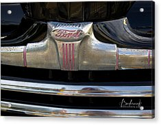 1940s Ford Grill Acrylic Print