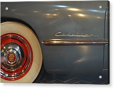 1942 Cadillac - Series 62 Sedanette Fastback Acrylic Print by Michelle Calkins