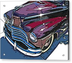 1946 Chevrolet Front Study Acrylic Print by Samuel Sheats