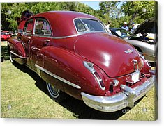 1947 Cadillac . 5d16184 Acrylic Print by Wingsdomain Art and Photography