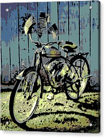 1947 Whizzer Acrylic Print by George Pedro