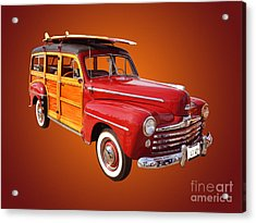 1947 Woody Acrylic Print by Jim Carrell