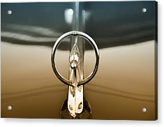 1948 Buick Eight Super Hood Ornament Acrylic Print by Bill Cannon