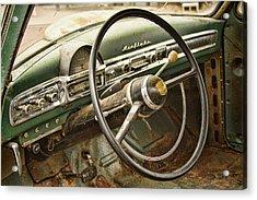 1951 Nash Ambassador Interior Acrylic Print by James BO  Insogna