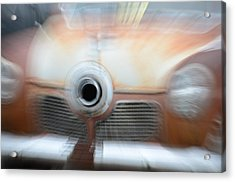 1951 Studebaker Abstract Acrylic Print