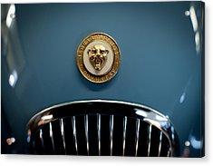 1952 Jaguar Hood Ornament Acrylic Print