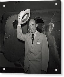 1952 Presidential Nominee Adlai Acrylic Print by Everett