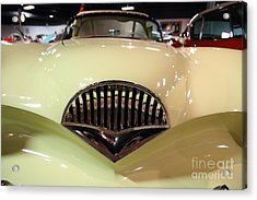1954 Kaiser Darrin Grille View Acrylic Print by Wingsdomain Art and Photography