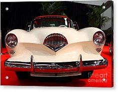 1954 Kaiser Darrin Roadster . 7d9182 Acrylic Print by Wingsdomain Art and Photography