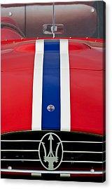 1956 Maserati 350 S Acrylic Print by Jill Reger