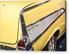 1957 Chevy Belair Acrylic Print by Kathleen Nelson