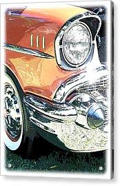 1957 Chevy Acrylic Print by Steve McKinzie