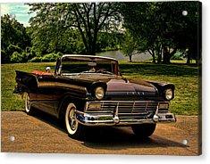 1957 Ford Fairlane 500 Convertible Acrylic Print