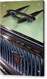 1957 Nash Statesman Super Acrylic Print by David Patterson