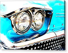 Acrylic Print featuring the digital art 1958 Buick by Tony Cooper