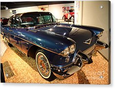 1958 Cadillac Eldorado Series 70 Brougham Acrylic Print by Wingsdomain Art and Photography