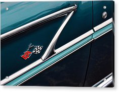 Acrylic Print featuring the photograph 1958 Chevrolet Bel Air by Gordon Dean II