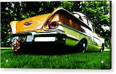 1958 Chevrolet Delray Acrylic Print by Phil 'motography' Clark