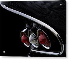 1958 Impala Tailfin Acrylic Print by Douglas Pittman