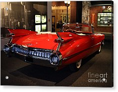 1959 Cadillac Convertible - 7d17376 Acrylic Print by Wingsdomain Art and Photography