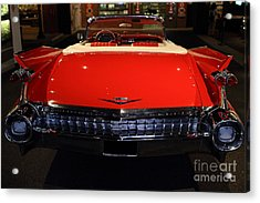 1959 Cadillac Convertible - 7d17377 Acrylic Print by Wingsdomain Art and Photography