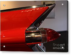 1959 Cadillac Convertible - 7d17386 Acrylic Print by Wingsdomain Art and Photography