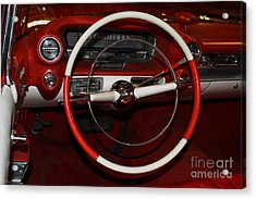 1959 Cadillac Convertible - 7d17387 Acrylic Print by Wingsdomain Art and Photography