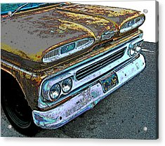 1960 Chevrolet Apache 10 Pickup Truck Acrylic Print