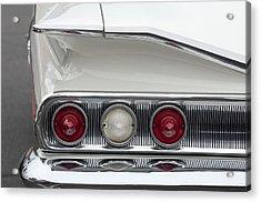 1960 Chevrolet Impala Tail Lights Acrylic Print by Jill Reger