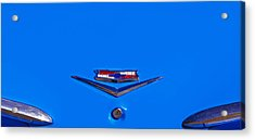 1960 Chevy Bel Air Trunk Emblem Acrylic Print