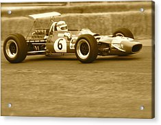 Acrylic Print featuring the photograph 1960s Matra F1 by John Colley